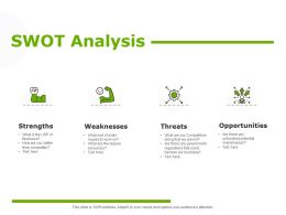 Swot Analysis Communication Planning Ppt Powerpoint Presentation Ideas Background Designs