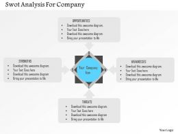 Swot Analysis For Company Flat Powerpoint Design