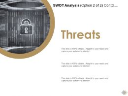 SWOT Analysis Marketing L799 Ppt Powerpoint Presentation