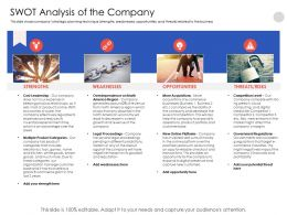Swot Analysis Of The Company N552 Powerpoint Presentation Images