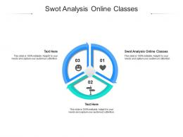 Swot Analysis Online Classes Ppt Powerpoint Presentation Graphics Cpb
