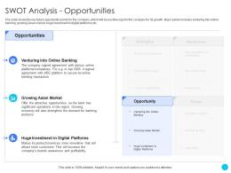 Swot Analysis Opportunities Challenges And Opportunities Ppt Inspiration