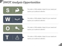 Swot Analysis Opportunities Powerpoint Slide Introduction