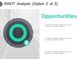 Swot Analysis Opportunities Ppt Powerpoint Presentation Pictures Professional