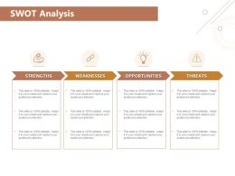 Swot Analysis Opportunities Threats Ppt Powerpoint Presentation Summary Vector