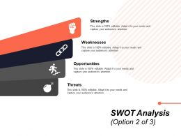 SWOT Analysis Option Ppt Powerpoint Presentation File Summary