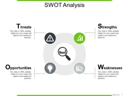 Swot Analysis PowerPoint Slide Templates Download