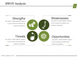 Swot Analysis Powerpoint Slides Design