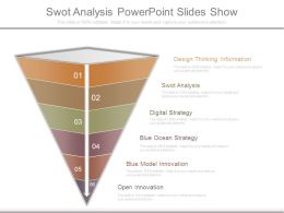 Swot Analysis Powerpoint Slides Show