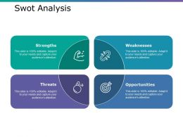 Swot Analysis Ppt Model Clipart Images