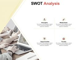 SWOT Analysis Ppt Powerpoint Presentation Infographics Portfolio