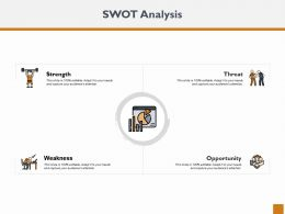 Swot Analysis Ppt Powerpoint Presentation Outline Designs