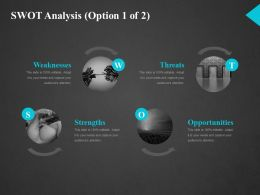 Swot Analysis Ppt Slide