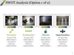 Swot Analysis Ppt Styles Outfit