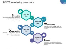 Swot Analysis Ppt Summary Design Inspiration