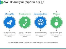 Swot Analysis Ppt Summary Pictures