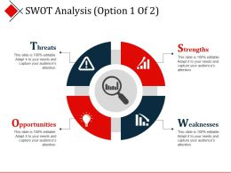 Swot Analysis Presentation Powerpoint Templates