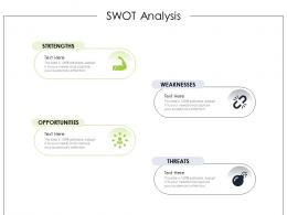 SWOT Analysis Product Requirement Document Ppt Information