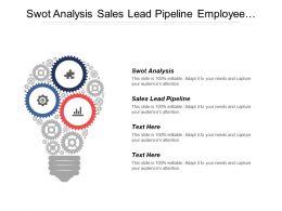 Swot Analysis Sales Lead Pipeline Employee Performance Appraisal Cpb