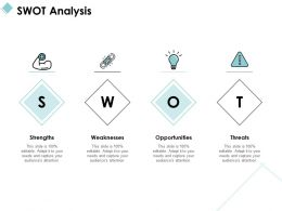 SWOT Analysis Strength Weaknesses C1026 Ppt Powerpoint Presentation File Slides