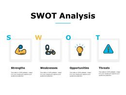Swot Analysis Strengths Weaknesses C634 Ppt Powerpoint Presentation Infographic Template Structure