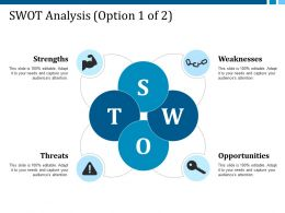 Swot Analysis Strengths Weaknesses Opportunities Threats Ppt Background Images