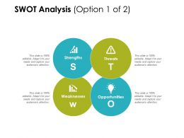 Swot Analysis Strengths Weaknesses Ppt Powerpoint Presentation Infographics Portfolio