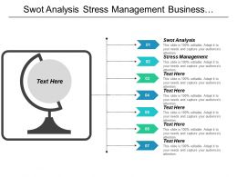 Swot Analysis Stress Management Business Communication Organizational Structure Cpb