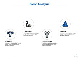 Swot Analysis Technology K201 Ppt Powerpoint Presentation Visuals