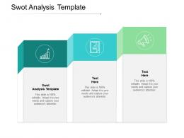 Swot Analysis Template Ppt Powerpoint Presentation Infographics Example Topics Cpb