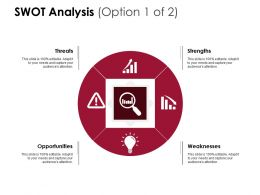 Swot Analysis Threats Opportunity D230 Ppt Powerpoint Presentation Infographic Template Picture