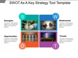 Swot As A Key Strategy Tool Template Powerpoint Guide