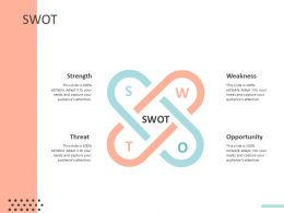 SWOT C1467 Ppt Powerpoint Presentation Infographics Layout