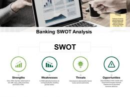 SWOT Community Bank Overview Ppt Powerpoint Presentation Infographic Template Rules