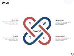 SWOT Opportunities N108 Powerpoint Presentation Show