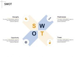 SWOT Opportunity M2173 Ppt Powerpoint Presentation Visual Aids Deck