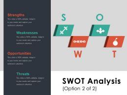 Swot Ppt Summary Graphics
