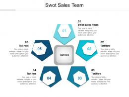 Swot Sales Team Ppt Powerpoint Presentation Design Ideas Cpb