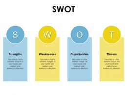 Swot Strength Threat Opportunities D256 Ppt Powerpoint Presentation Icon Portfolio