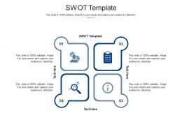 Swot Template Ppt Powerpoint Presentation Infographic Template Structure Cpb