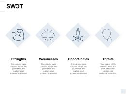 Swot Threat A140 Ppt Powerpoint Presentation Icon Themes