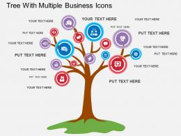 sx_tree_with_multiple_business_icons_flat_powerpoint_design_Slide01