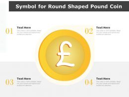 Symbol For Round Shaped Pound Coin