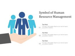 Symbol Of Human Resource Management