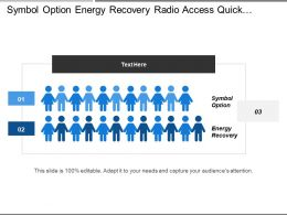 Symbol Option Energy Recovery Radio Access Quick Installation