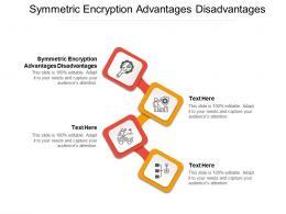 Symmetric Encryption Advantages Disadvantages Ppt Powerpoint Presentation Ideas Outfit Cpb
