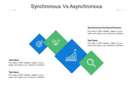 Synchronous Vs Asynchronous Ppt Powerpoint Information Cpb