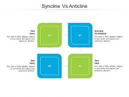 Syncline Vs Anticline Ppt Powerpoint Presentation Styles Infographic Template Cpb