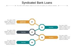 Syndicated Bank Loans Ppt Powerpoint Presentation Inspiration Format Ideas Cpb