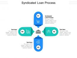 Syndicated Loan Process Ppt Powerpoint Presentation Infographics Layouts Cpb